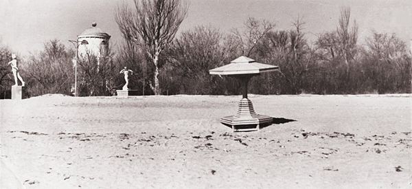 в парке им. Фрунзе.-1950