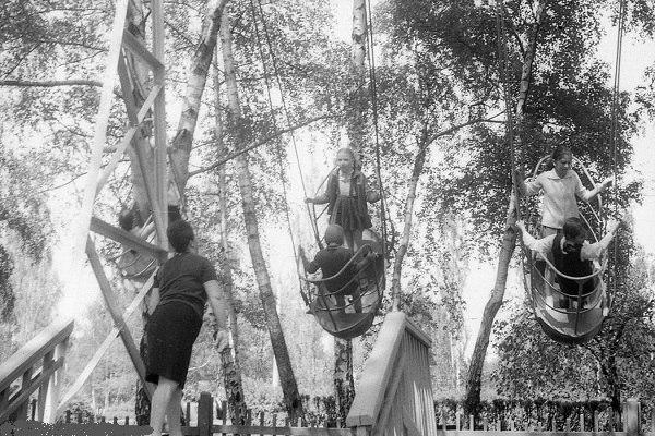 лодочки в парке им.Фрунзе - 1970