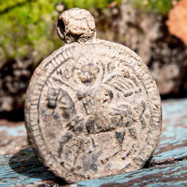медальон св. георгия