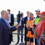 Открытие трассы «Таврида» в Крыму
