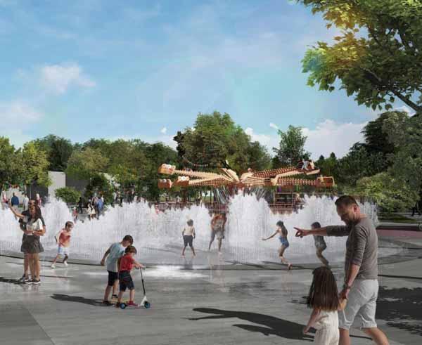 Это уже ВТОРОЙ СУХОЙ фонтан Евпатории. Первый сухой фонтан на набережной им Терешковой