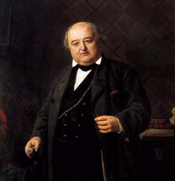 Портрет Щепкина М. С. (1788 - 1863, Ялта)