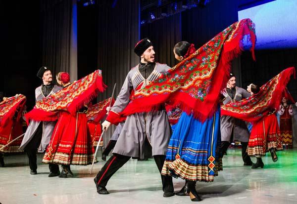 Кубанского казачьего хора из Краснодара