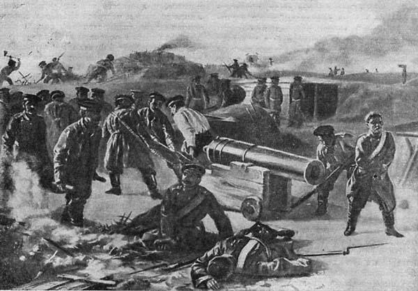 корабельные орудия на бастионах севастополя