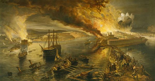 мост с южной на северную сторону Севастополя