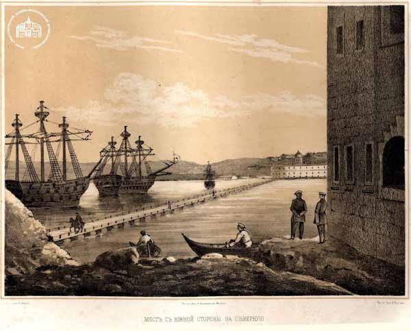 севастополь-мост с южной стороны на северную