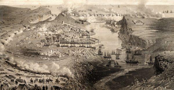 первая бомбардировка секастополя 5 октября 1854 года