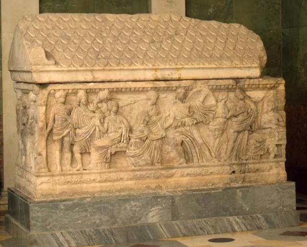 строгановский саркофаг-3 век до н.э.
