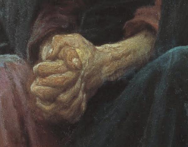 Ivan_Kramskoy_-_Руки Христа (фрагмент картины)