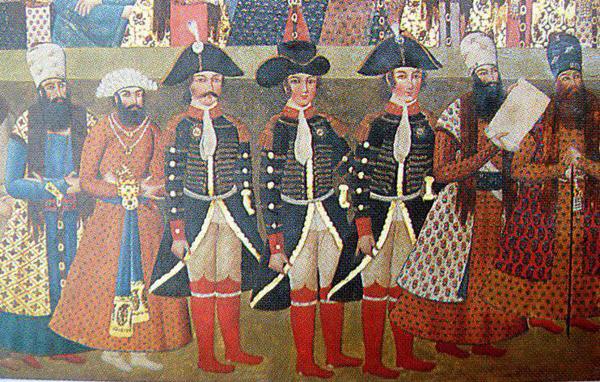 Британские военные советники при дворе Фетх Али-шаха - Дж. Малькольм, Х. Джоунс и Г. Узли