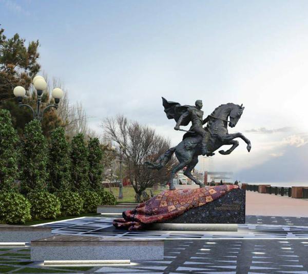 Памятник Котляревскому в феодосии