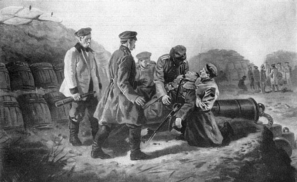 Смерть адмирала Нахимова.