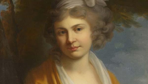Суворочка Наташа. худ. Иоганн Баптист Лампи Старший -1795