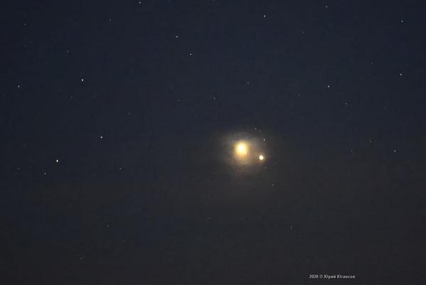 Фиолент-сатурн -юпитер