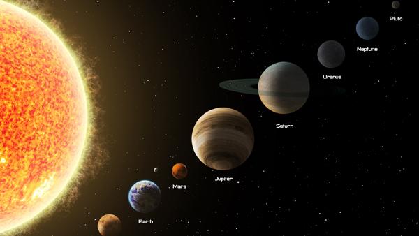 земля-марс-юпитер-сатурн