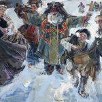 Древнерусский обычай «водить кобылку» на святках