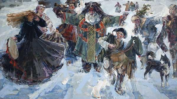 конь-рождество