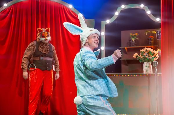 лис и кролик