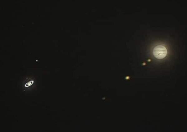 сатурн и юпитер--