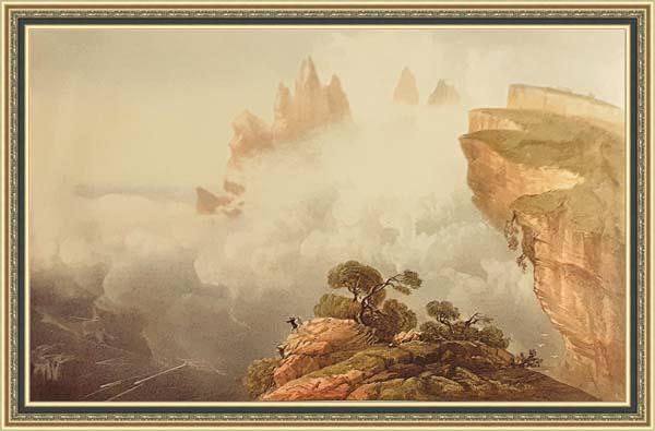 Карло Боссоли (1815 - 1884), -вершины горы св. ай-петри