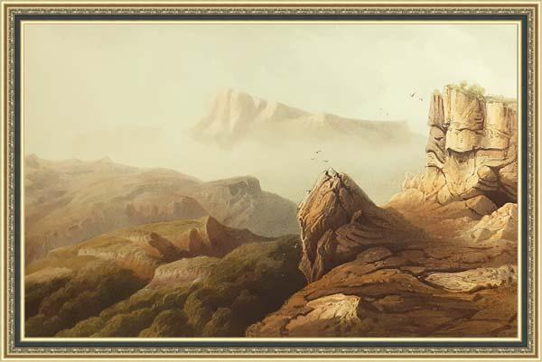 Карло Боссоли (1815 - 1884), горы Четыр-даг