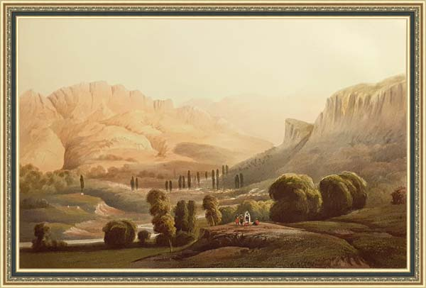 Карло Боссоли (1815 - 1884), долина Коккозка