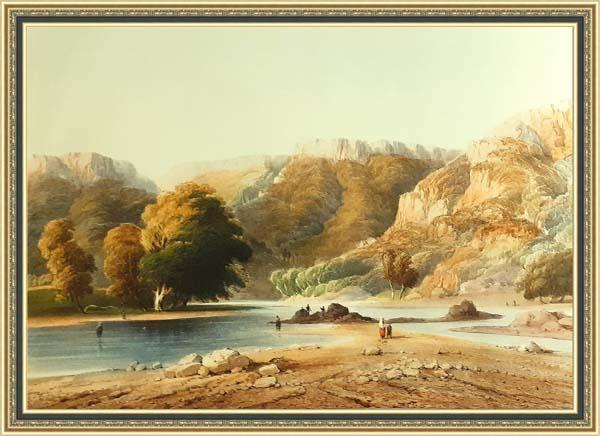 Карло Боссоли (1815 - 1884), река Кача