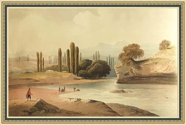 Карло Боссоли (1815 - 1884), река Салгир