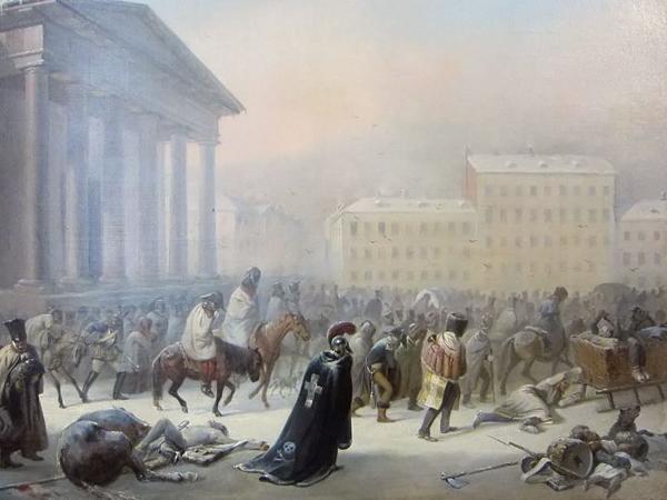 Тимм. Французское отступление через Вильнюс