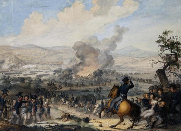 т-битва при Кульме-1813 год- худ Александр Зауервейд