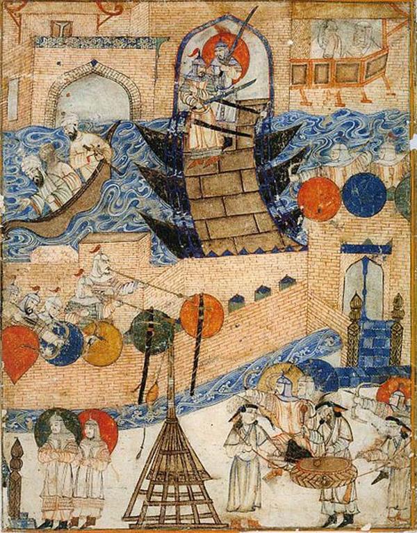 Завоевание Багдада монголами 1258 г.