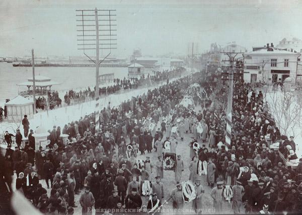 Похороны Панпулова С.М. 1911 г