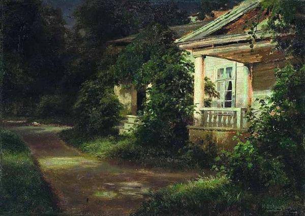 вельц-Вид на имение Тентентникова