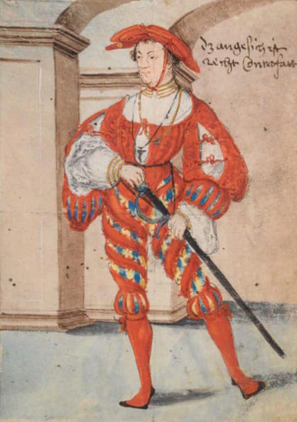 мода 16 век-