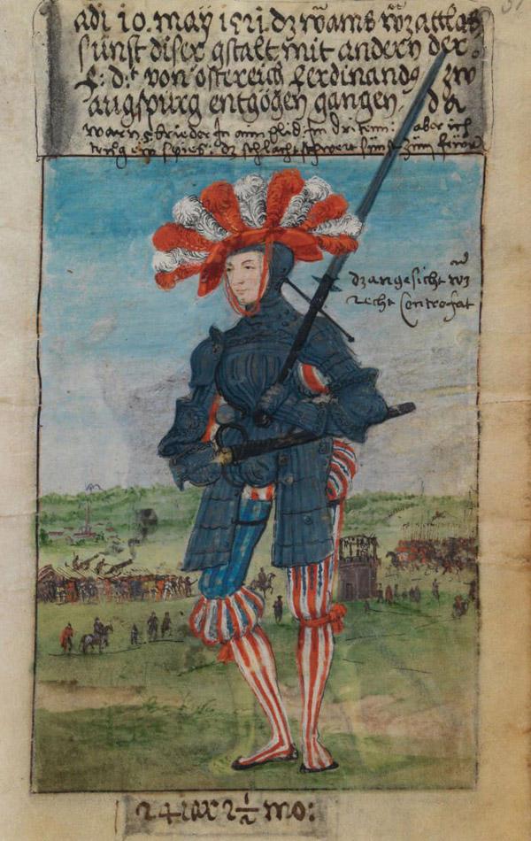 пехотинец-16 век