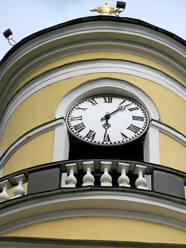часы-в Спасо-Преображенском соборе, питера