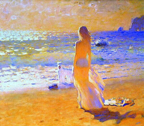 Бато Дугаржапов, художник море