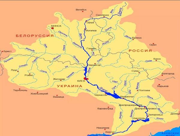 Днепр-бассейн реки