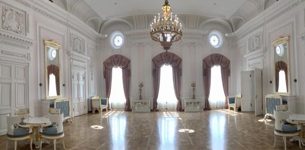 Петровский путевой дворец парк в Москве3