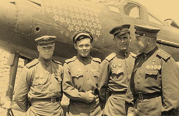 Александр Иванович Покрышкин.