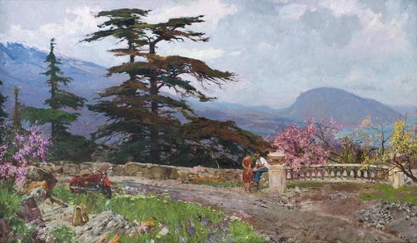 картина Петра Кузьмича Столяренко (1925-2018),