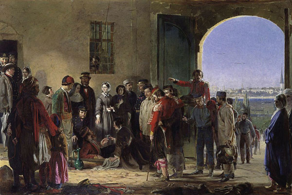 Миссия милосердия, Флоренс Найтингейл в Скутари
