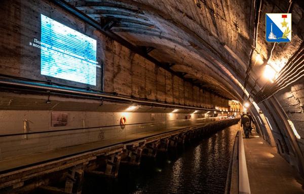 музей с подземной гаванью для подлодок в Балаклавез