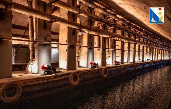 музей с подземной гаванью для подлодок в Балаклаве9
