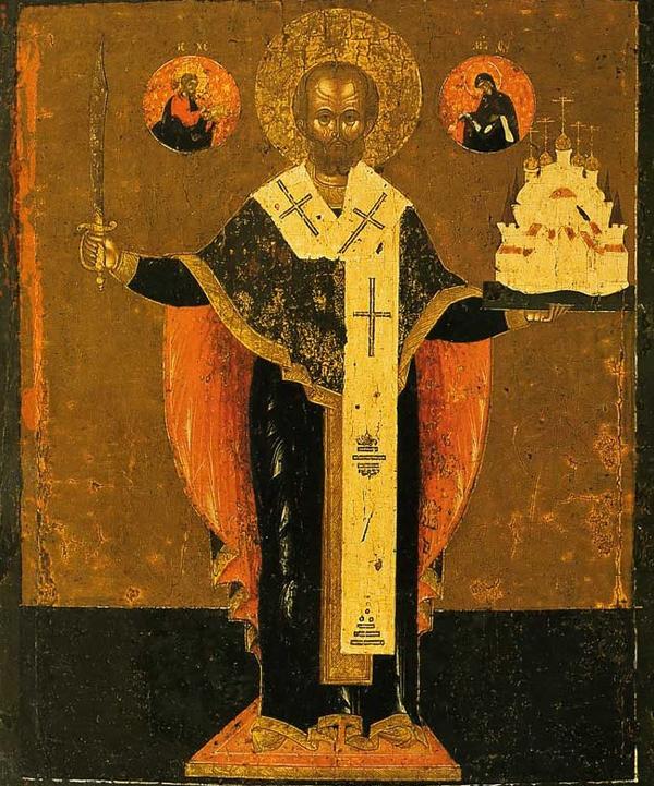 святой Никола Можайский икона
