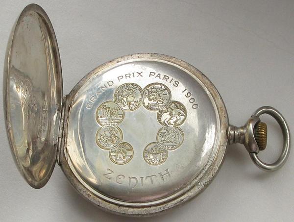 Карманные швейцарские часы Zenith - Зенит 1900 г.
