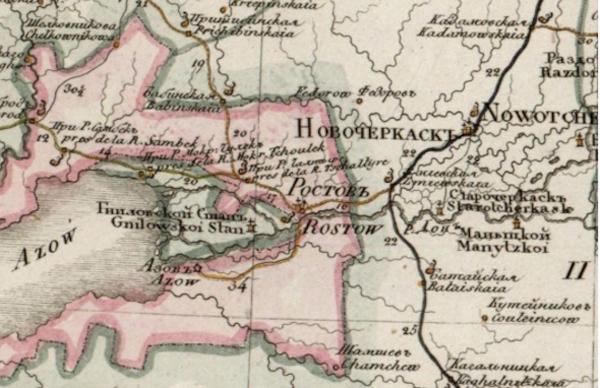 Территория ливенцовского археологической культуры - Приазовье
