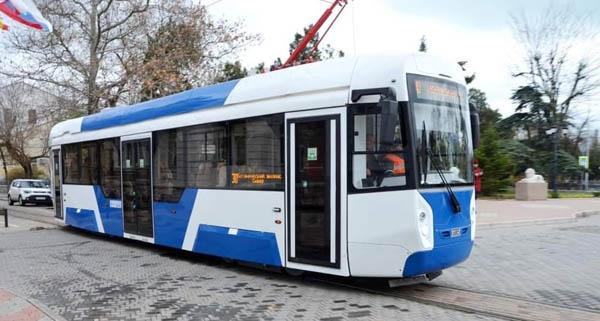 новый-трамвая