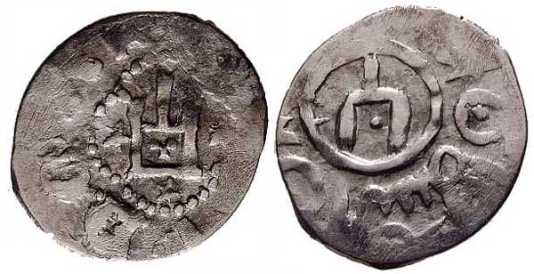 Серебряные монеты Кафы 1346 год.