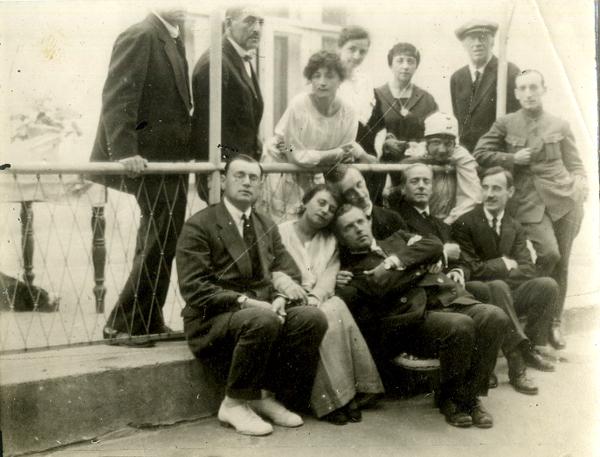 Аркадий Аверченко в Севастополе в 1920